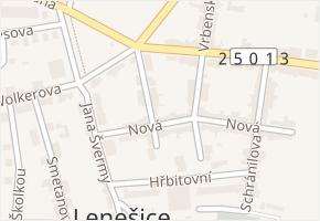 Vrchlického v obci Lenešice - mapa ulice