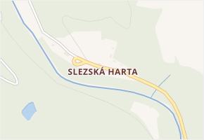 Slezská Harta v obci Leskovec nad Moravicí - mapa části obce