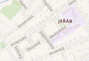 Americká v obci Liberec - mapa ulice