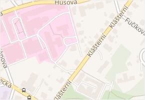 Arbesova v obci Liberec - mapa ulice