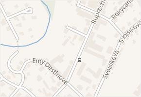 Ruprechtická v obci Liberec - mapa ulice