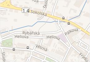 Sokolská v obci Liberec - mapa ulice