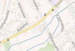 Švermova v obci Liberec - mapa ulice