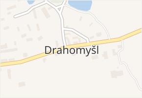 Drahomyšl v obci Lipno - mapa části obce