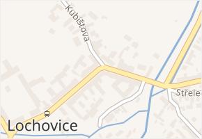 Lochovice v obci Lochovice - mapa části obce