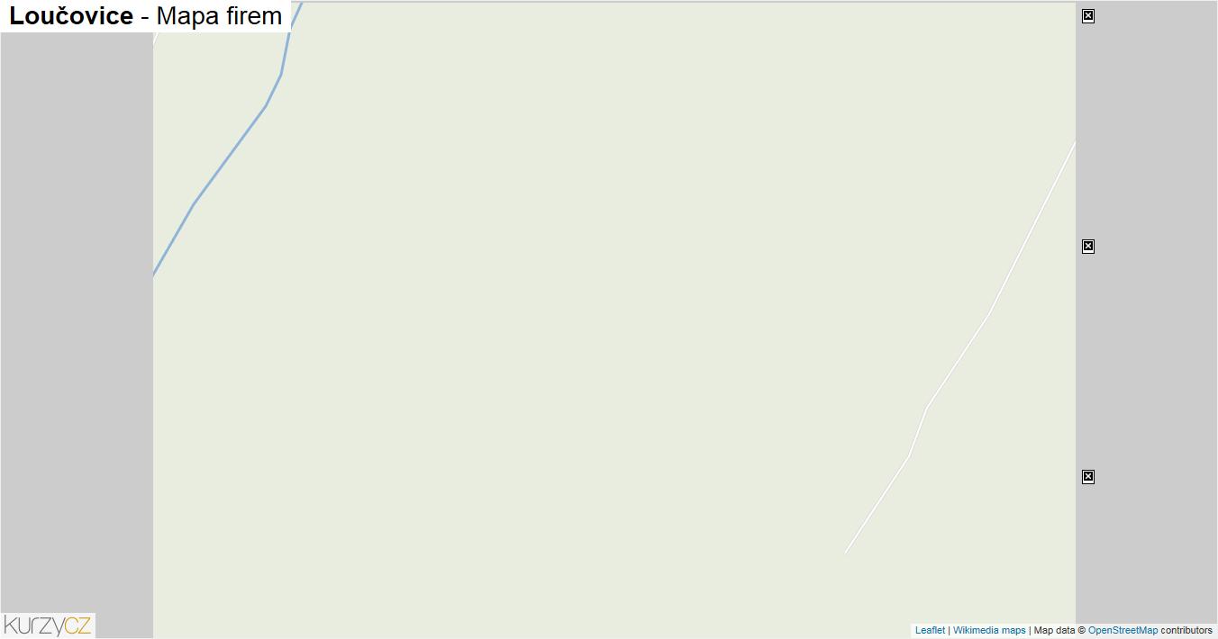 Loučovice - mapa firem