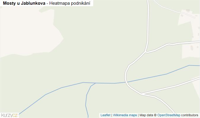 Mapa Mosty u Jablunkova - Firmy v obci.