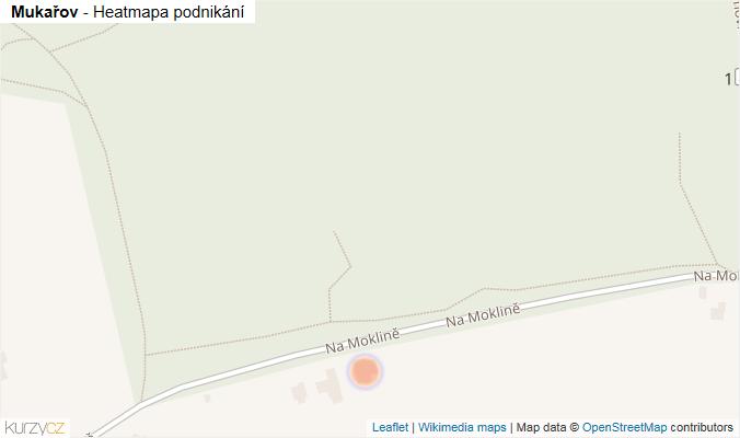 Mapa Mukařov - Firmy v obci.