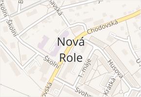 Nová Role v obci Nová Role - mapa části obce