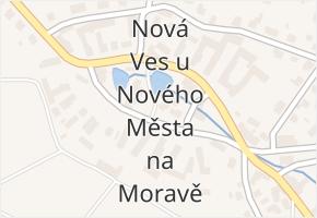 Nová Ves u Nového Města na Moravě v obci Nová Ves u Nového Města na Moravě - mapa části obce