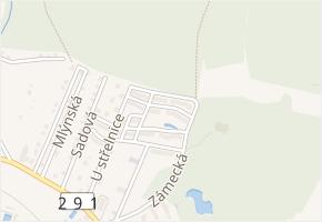 Na výsluní v obci Nové Město pod Smrkem - mapa ulice