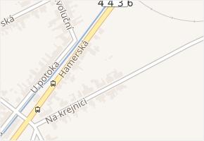 Hamerská v obci Olomouc - mapa ulice