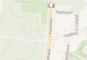Plzeňská v obci Ostrava - mapa ulice
