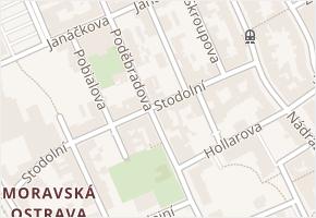 Stodolní v obci Ostrava - mapa ulice