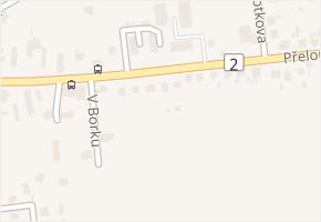 Přeloučská v obci Pardubice - mapa ulice