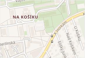 Chudenická v obci Praha - mapa ulice