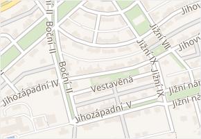 Jihozápadní II v obci Praha - mapa ulice