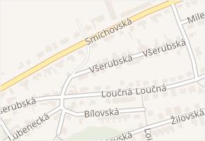 Smíchovská v obci Praha - mapa ulice