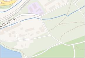 U Michelského lesa v obci Praha - mapa ulice