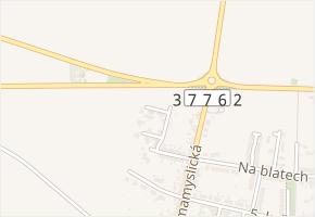 Olšová v obci Prostějov - mapa ulice