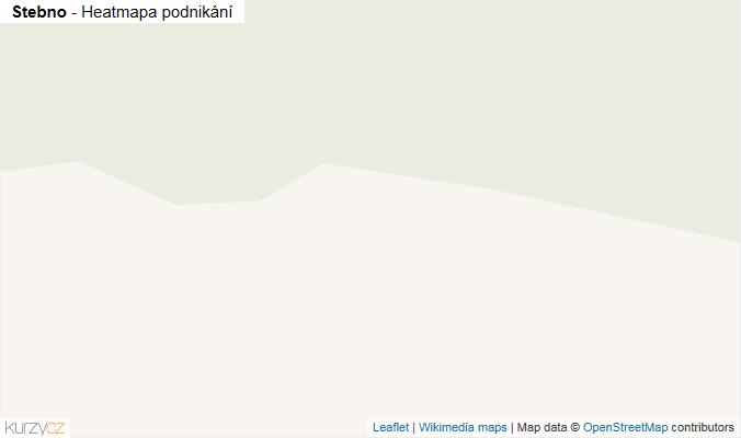 Mapa Stebno - Firmy v obci.