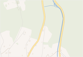 Strážné v obci Strážné - mapa části obce