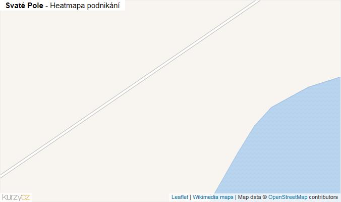 Mapa Svaté Pole - Firmy v obci.