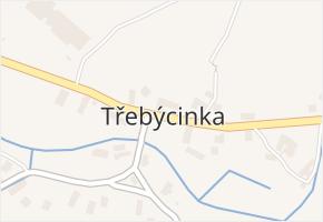 Třebýcinka v obci Švihov - mapa části obce