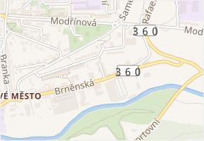 Cihlářská v obci Třebíč - mapa ulice