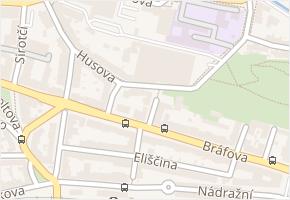 Kostnická v obci Třebíč - mapa ulice
