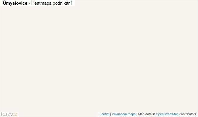 Mapa Úmyslovice - Firmy v obci.