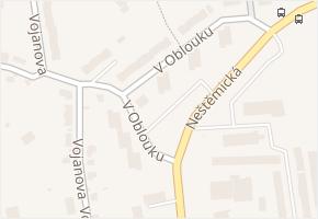 V Oblouku v obci Ústí nad Labem - mapa ulice
