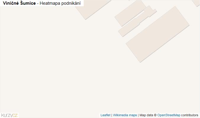 Mapa Viničné Šumice - Firmy v obci.