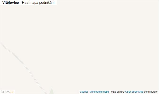 Mapa Vitějovice - Firmy v obci.
