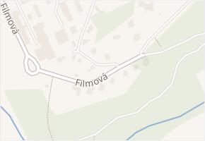 Filmová v obci Zlín - mapa ulice