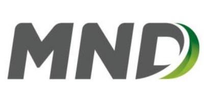 Logo MND a. s.