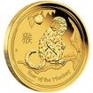 Zlatá mince Rok Opice 1/20 oz