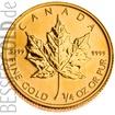 Zlatá mince 1/10 oz (trojské unce) MAPLE LEAF Kanada