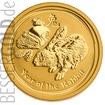 Zlatá mince Rok Zajíce 1/4 oz