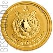 Zlatá mince Rok Tygra 1/4 oz