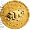 Zlatá mince Rok Buvola 1/4 oz