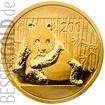 Zlatá mince 1/2 oz (trojské unce) PANDA Čína