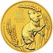 Zlatá mince Rok Myši 1/2 oz