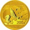 Zlatá mince Panda 15 g