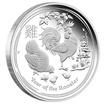 Stříbrná mince Rok Kohouta 1/2 oz