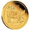 Zlatá mince Rok Vepře 1 oz