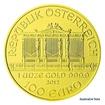 Zlatá investiční mince 1 Oz 100 EUR Wiener Philharmoniker stand