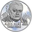 Alois Eliáš - 28 mm stříbro Proof