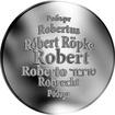 Česká jména - Robert - stříbrná medaile