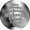 Česká jména - Radovan - stříbrná medaile